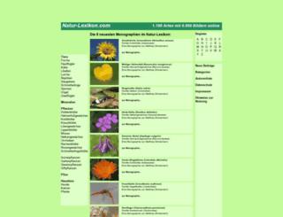 natur-lexikon.com screenshot