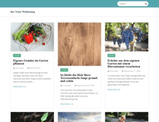 natur-webkatalog.de screenshot