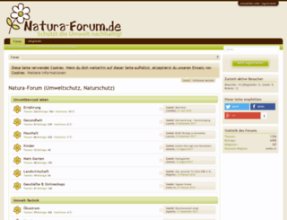 natura-forum.de screenshot
