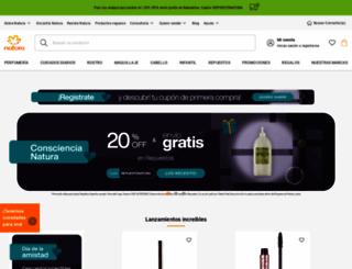 naturacosmeticos.com.ar screenshot