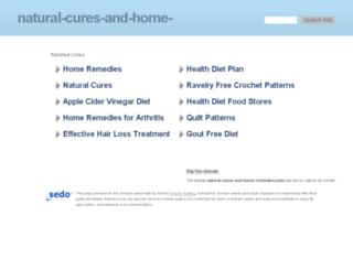 natural-cures-and-home-remedies.com screenshot