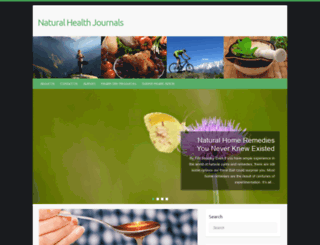 natural-health-journals.com screenshot