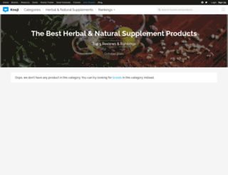 natural-herbal-remedies.knoji.com screenshot