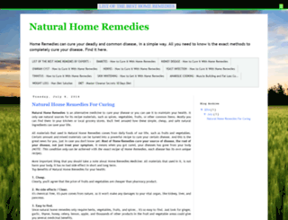 natural-home-remedies-methods.blogspot.com screenshot