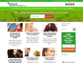 natural-homeremedies.org screenshot