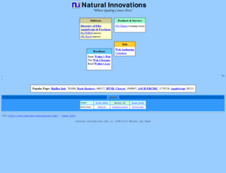 natural-innovations.com screenshot