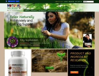 natural-necessity.com screenshot