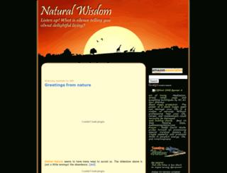 natural-wisdom.blogspot.com screenshot