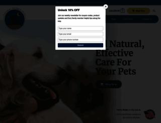 natural-wonder-pets.com screenshot