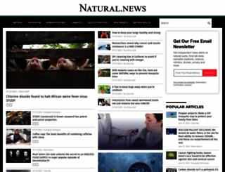 natural.news screenshot