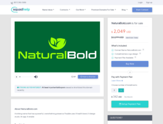 naturalbold.com screenshot
