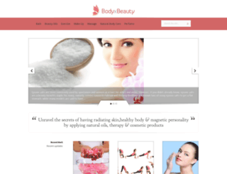 naturalcare.bodyxbeauty.com screenshot