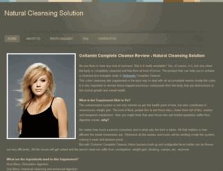 naturalcleansingsolution.webs.com screenshot