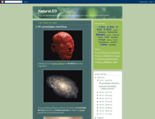 naturalesleonor.blogspot.com screenshot