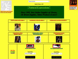 naturalexpressions.org screenshot