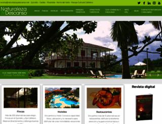 naturalezaydescanso.com screenshot