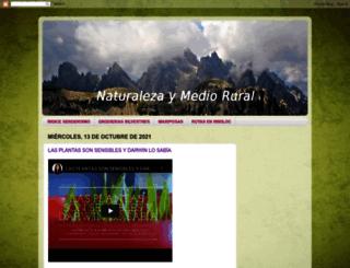 naturalezaymediorural.blogspot.com screenshot
