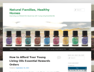 naturalfamilieshealthyhomes.com screenshot