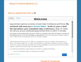 naturalfunctionalmedicine.checkappointments.com screenshot