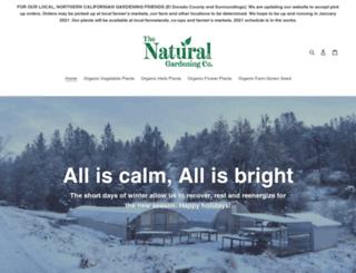 naturalgardening.com screenshot