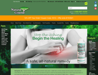 naturalginesis.com screenshot