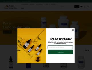 naturalhealinghouse.com screenshot