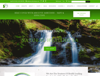 naturalhealingsa.com screenshot