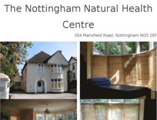 naturalhealthcentre.co.uk screenshot