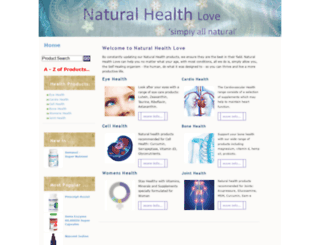 naturalhealthlove.co.uk screenshot