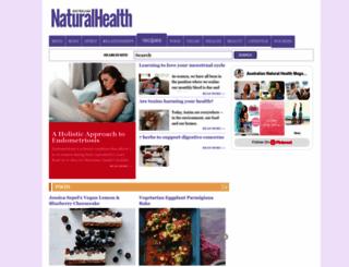 naturalhealthmag.com.au screenshot