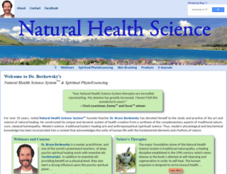 naturalhealthscience.com screenshot