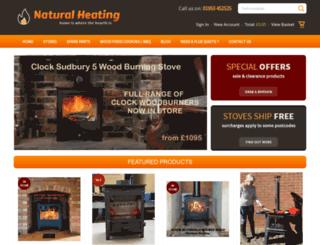 naturalheating.co.uk screenshot
