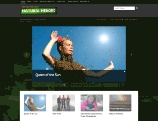 naturalheroes.org screenshot