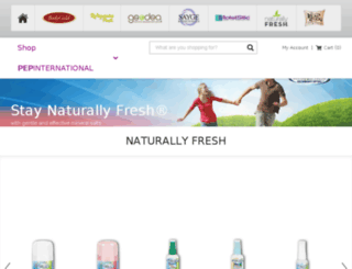 naturallyfreshdeodorantcrystal.com screenshot