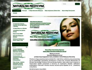 naturalna-medycyna.com.pl screenshot