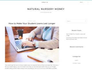 naturalnursery.co.uk screenshot