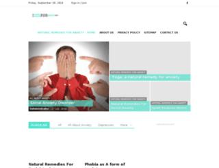 naturalremediesforanxiety.net screenshot