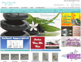 naturalremediesforstress.com screenshot