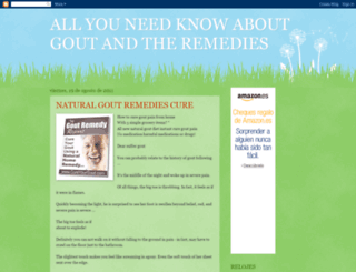 naturalremediesgout.blogspot.com.ar screenshot