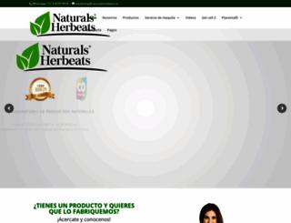 naturalsherbeats.com screenshot