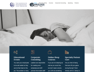 naturalsleepmedicine.net screenshot