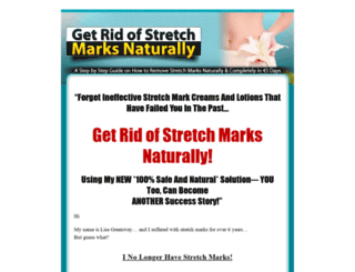 naturalstretchmarksremoval.com screenshot