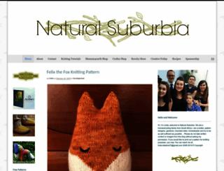 naturalsuburbia.com screenshot