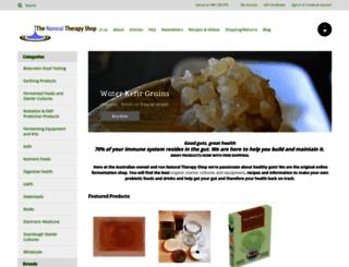 naturaltherapyshop.com.au screenshot