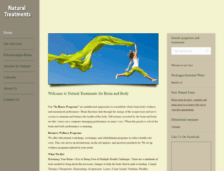 naturaltreatmentsforbrainandbody.com screenshot