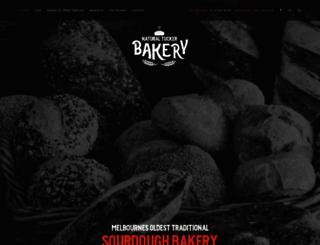 naturaltuckerbakery.com.au screenshot