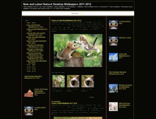 naturalwallpapers2012.blogspot.nl screenshot