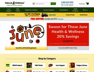 naturalwellnessonline.com screenshot