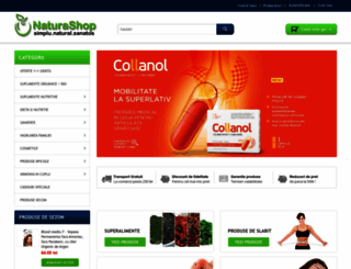 naturashop.ro screenshot