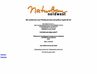 naturbau-nordwest.de screenshot